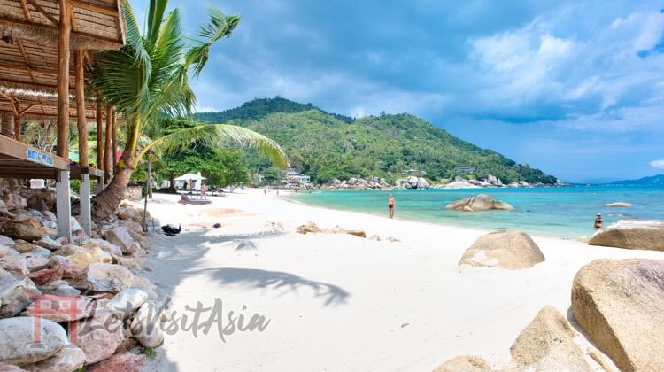 An image of Silver Beach in Koh Samui, Thailand