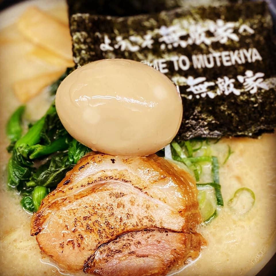 One of the best ramen from Mutekiya in Shinjuku