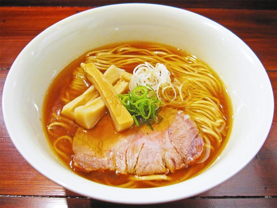 Ramen Yamaguchi bowl in Shinjuku