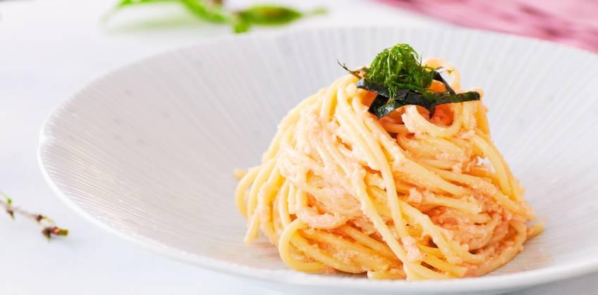 Itameshi style Tarako Spaghetti